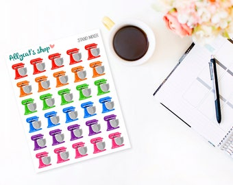 Stand Mixer Stickers - Planner Stickers