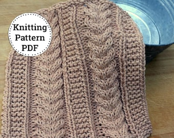 Knitting Pattern | Dishcloth Pattern | Knitted Dishcloth | Opal