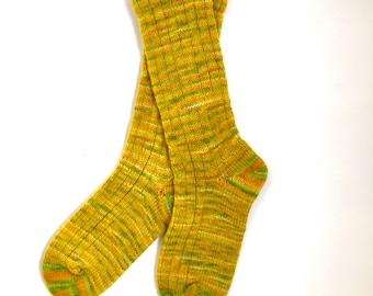 Handmade Wool Socks 838 -- Women's Size 6-8