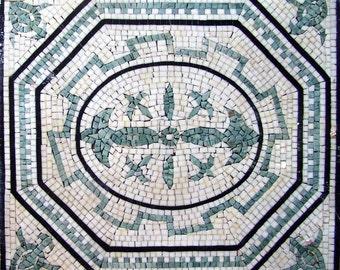 Geometric Marble Square - Laelia