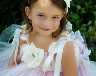 Design Your Own TuTu Flower Girl Dress  Wedding, Birthday, Portraits