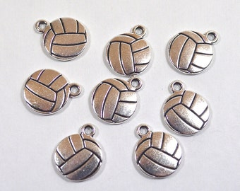 TierraCast Volleyball Charms - Choose Your Quantity