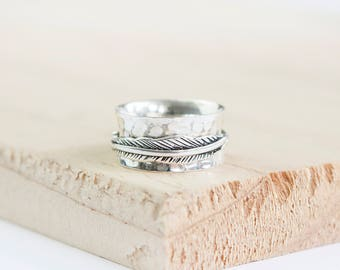 Maisie * Meditation Ring * Spinner Ring * Spinning Ring * Anxiety Ring * Worry Ring * Boho Ring * Spin Ring * Prayer Ring * Custom Ring *