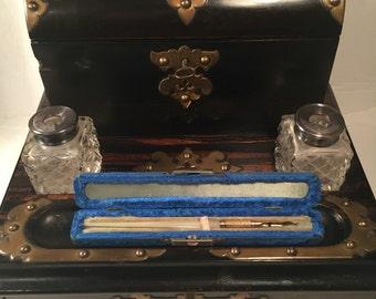 Antique English Writing Desk