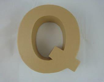 """Letter 3D decoration for home decor """"Q"""""""