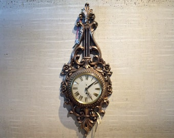 Baroque Style Wall Clock Made in Germany