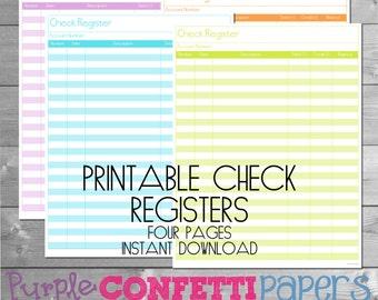 check register in pdf
