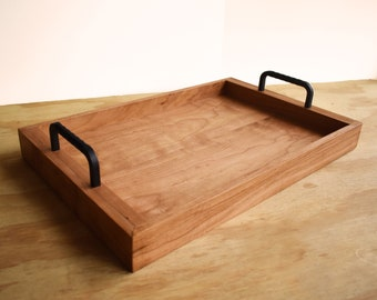 Rustic Serving Tray  Cherry  Serving Tray  Trendy Collection