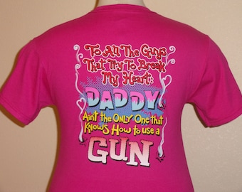 U.S. FREE SHIPPING! Sassy Chicks women's hot pink T-shirt in your choice if size Small, Medium, Large, or X-Large