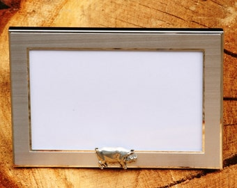 Pig Sow Photo Picture Frame Gift Landscape Or Portrait