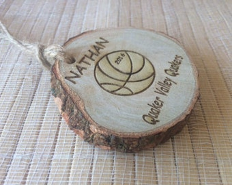 Custom basketball Ornament, basketball ornament, basketball team gift,  basketball coach gift, coach gift