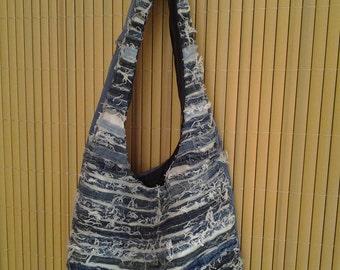Denim Tote Bag 020