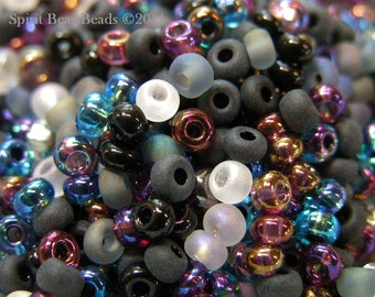 Witch's Brew Czech Glass seed bead Mix size 6/0 50 Grams