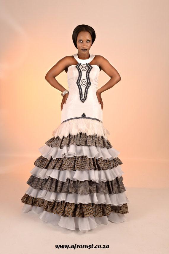 Fantastisch Afrikanisch Brautkleider Bilder - Brautkleider Ideen ...