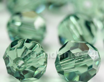 Swarovski Elements Crystal Beads 5000 4mm Round Ball Beads ERINITE - Available in 4mm ,6mm and 8mm