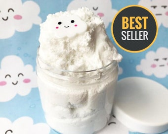 Cloud Slime with Charm Large 8 oz W/Extras Best Seller Customize Choose Scent & Color Cheap slime Slime Shop