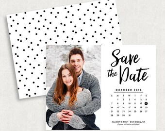 Calendar Save the Dates, Calendar Save the Date Magnets, Calendar Save the Date Cards, Printable Calendar Save the Dates, Printed Cards