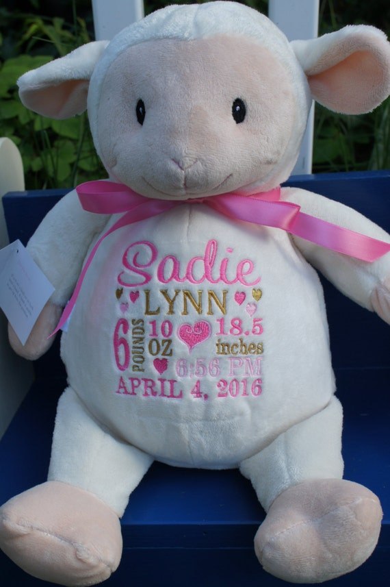 Personalized baby gifts baby cubbies loverbee like this item negle Gallery