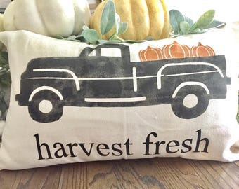 18x9 Fall pillow cover