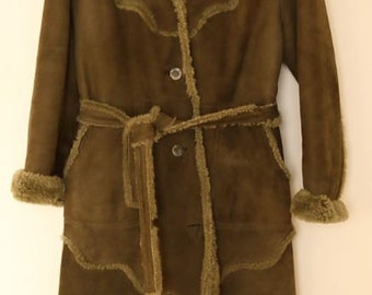 FRIITALA green lammy coat