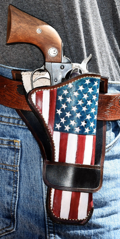 Amerikanische Flagge Pistole Holster