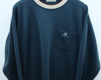 Vintage Lyle And Scott Embroidery Logo Sweatshirt Casual Fashion Designer Sweater