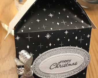House shaped gift box for all your little stocking fillers