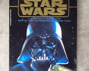 Vintage Orginal Star Wars Storybook, Lucasfilm Ltd, Published By Scholastic Inc. From 1997