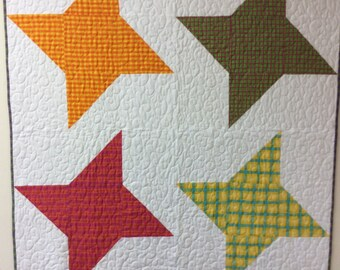 Four Star Baby Quilt