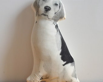 Silkscreen Beagle Pillow