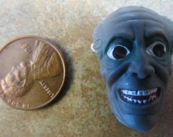 Dollhouse Miniature Zombie Man Halloween mask