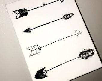 Arrow painting