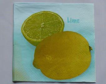 lemon paper towel
