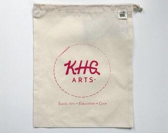 KHG Arts Project Bag. Ruby.