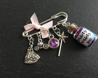 Cinderella Kilt Pin Brooch