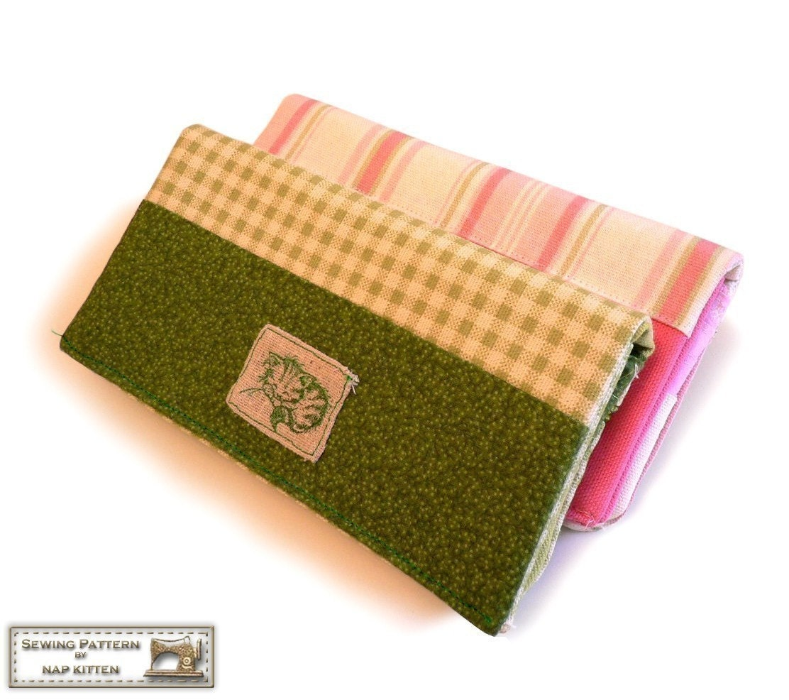 Wallet sewing pattern checkbook wallet cell phone long zoom jeuxipadfo Choice Image