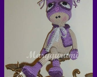 Plush OWL doll, crochet, Amigurumi