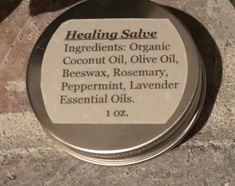 Healing salve, 1 oz tin, healing salves