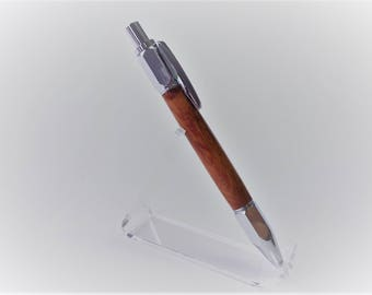 Click Pen from Thuja maser Wood