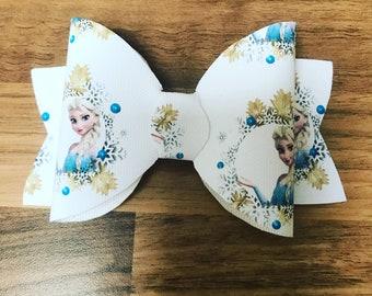 Frozen Elsa hair bow