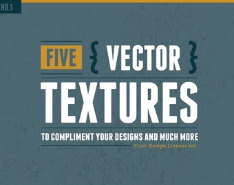 Texture Pack No.1 | Vector | EPS & PNG | Authentic Distressed, Aged, Rough, or Subtle Textures Quick and Easy