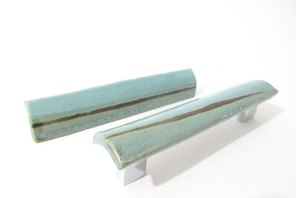 Drawer Pulls, Cabinet Handles, Door Handles, Handmade Ceramics for ...