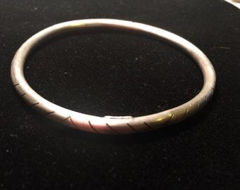 Handcraft 925 sterling silver cuff bracelet