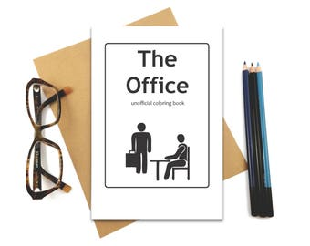 The Office Coloring Book - Rainy Day! - Stress Relief