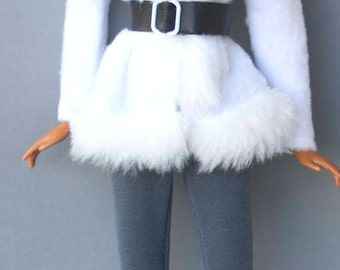 Barbie clothes - winter coat - Fashion royalty doll clothes, Doll clothes