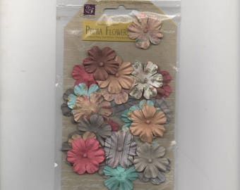 27903 decorations for your cards, paper flowers