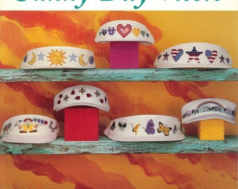 Sunny-Day Visors - Just CrossStitch Cross Stitch Pattern Leaflet