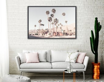 Palm Springs Wall Art, Large Palm Springs Photography, Mid Century Modern Art, California Photography, Apartment Wall Art, Mid Century Decor