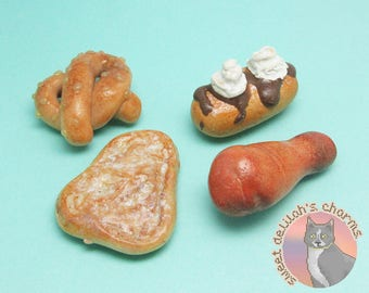 Fairgrounds Magnet Set - Polymer Clay Charms - OOAK