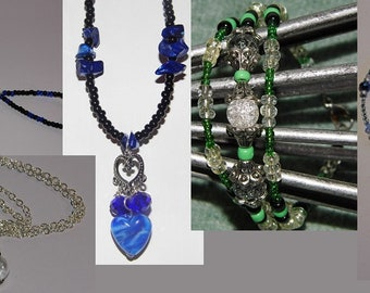 Boho Gypsy Spirit Jewelry Collection - Necklaces & Bracelets - Priority Shipping